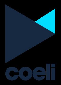 Coeli logo navy blue