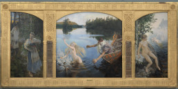 Aino Myth Triptych, oil on canvas (Finnish National Gallery)